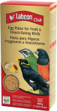 labcon club egg patee for fruit & insect-eating birds | pasta para pájaros frugívoros e insectívoros